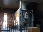 November, 2013 renovation of the antique crematory and retort (please, don't ever call it an